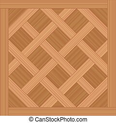 木, タイプ, バーセイルズ, 床材, 寄せ木張りの床