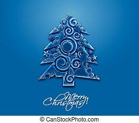 木, デザイン, クリスマス