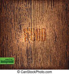 木, ベクトル, texture., 背景