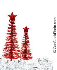 木, ボーダー, クリスマス