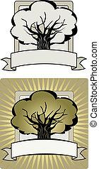 木, ラベル