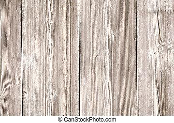 木, 古い, 木製である, ライト, 背景, 穀粒, textured, 板, 手ざわり