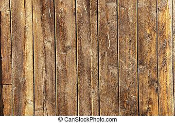 木, 多数, 板, 外気に当って変化した