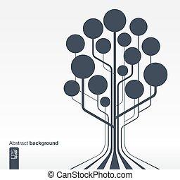 木, 抽象的な 概念, 成長, 背景