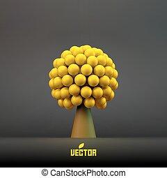 木。, 抽象的