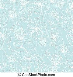 木, 日本語, 優雅である, 売りに出しなさい, 青, パターン, seamless, 織物, バックグラウンド。, sakura, 引かれる, 白, 包むこと, イラスト, 手, 花, 花, 印刷, 壁紙, paper., ライン, ベクトル, 咲く