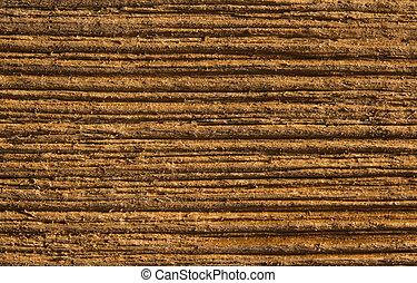 木, 木製である, マクロ, 手ざわり, 背景, 穀粒, 板