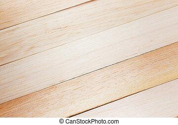 木 板條, 結構, 為, 背景。, 頂視圖