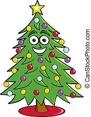 木, 漫画, クリスマス