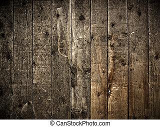 木 牆壁, 背景