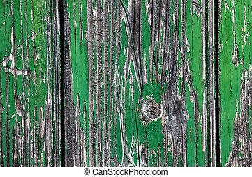 木, 緑, パチパチ音を立てた, 手ざわり