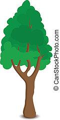 木, 緑, 漫画