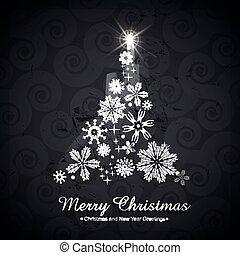 木, 芸術的, クリスマス