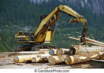木, 製造