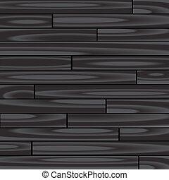 木, 黒い背景, 寄せ木張りの床