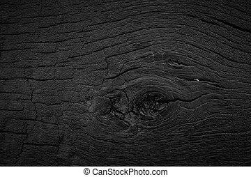 木, 黒い背景, 手ざわり