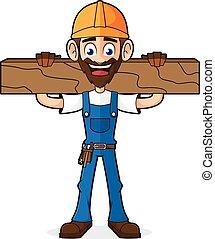 木, handyman, 板, 保有物