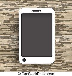 木, smartphone, 背景