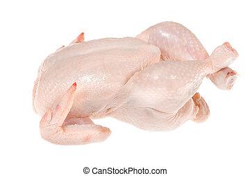 未加工, 鶏