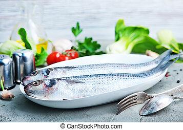未加工,  fish