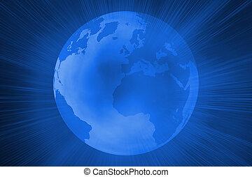 未来派, 地球, 光沢がある