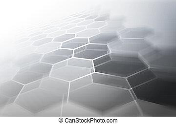 未来派, 多角形, 背景