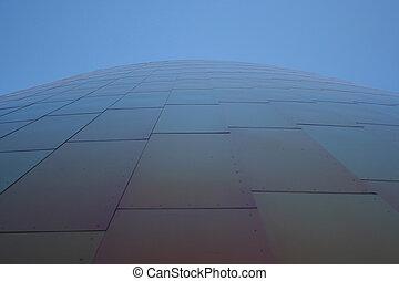 未来派, 建物