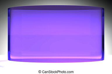 未来派, 液晶ディスプレイ, パネル, 紫色