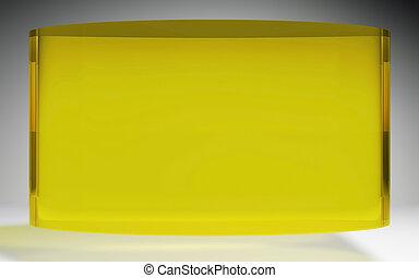 未来派, 液晶ディスプレイ, パネル, 黄色