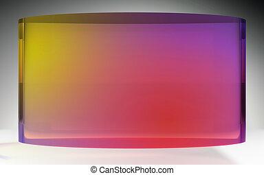 未来派, 液晶ディスプレイ, 色