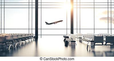 未来派, 空港