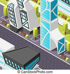 未来派, 等大, 建築, 背景