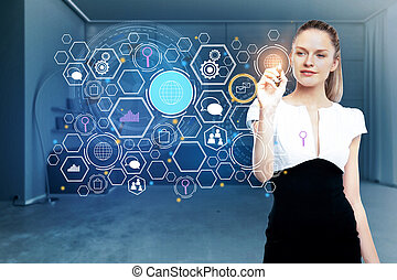 未来, 技術, 概念, 革新