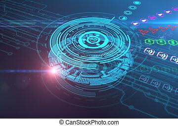 未来, 概念, 技術