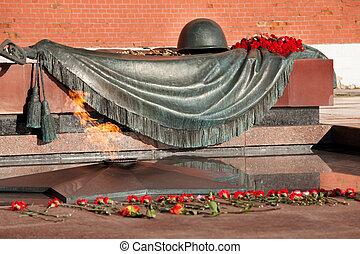 未知, モスクワ, 墓, 兵士