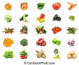未經加工的蔬菜, 彙整