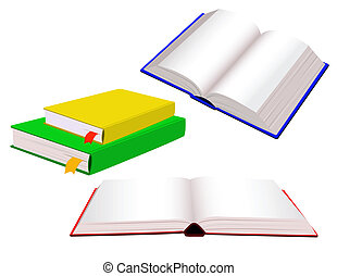 本を 開けなさい