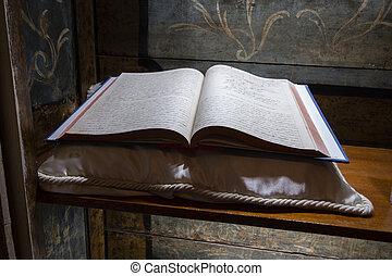 本を 開けなさい, 宗教 テキスト