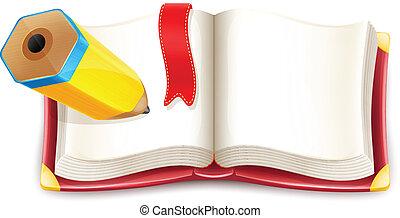 本を 開けなさい, 漫画, ベクトル