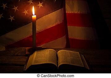 本を 開けなさい, candle., 燃焼