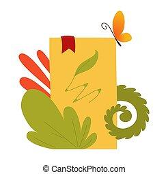 本, ∥で∥, セット, の, ベクトル, おとぎ話, 要素, アイコン, そして, イラスト, 本, 祝祭, ポスター, ブックカバー, デザイン