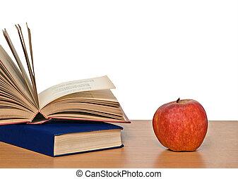 本, アップル, 赤い机