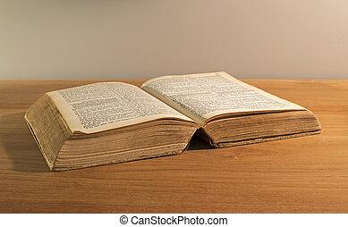 本, 古い, 聖書