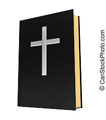 本, 聖書, 銀, 交差点