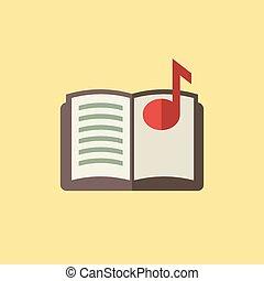 本, 音楽, アイコン
