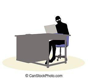 机, 女性ビジネス, モデル