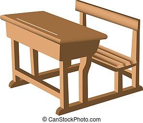 机 椅子, ユニット