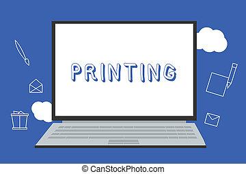 材料, 概念, テキスト, 新聞, 懸命に, 生産, 意味, 他, 本, 印刷される, printing., 手書き, コピー, ∥あるいは∥