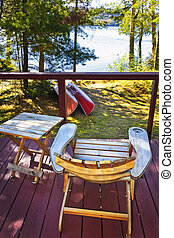 村舍, 椅子, 甲板