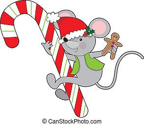 杖, マウス, キャンデー